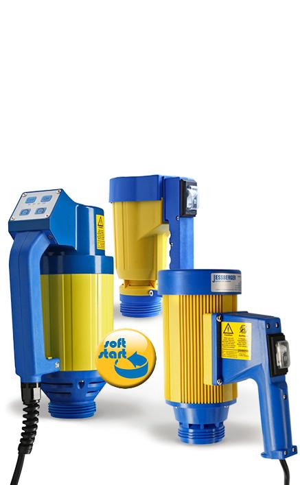 Pompe vide-fût électrique JP 360/JP 380 – Robustesse et fiabilité