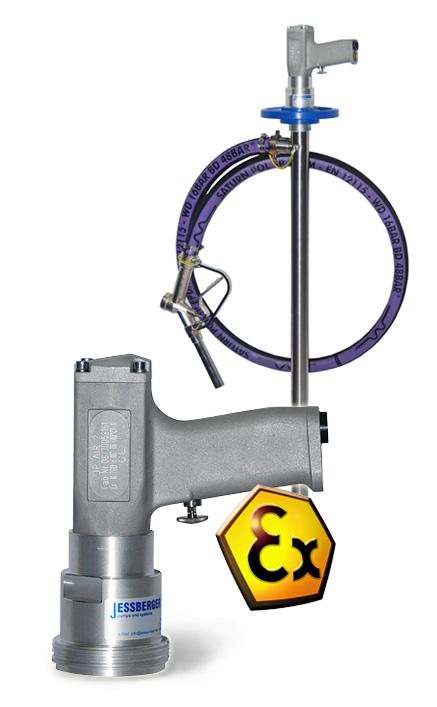 Pompe vide-fût pneumatique industrielle JP AIR 1 -JP AIR 2 – JP AIR 3