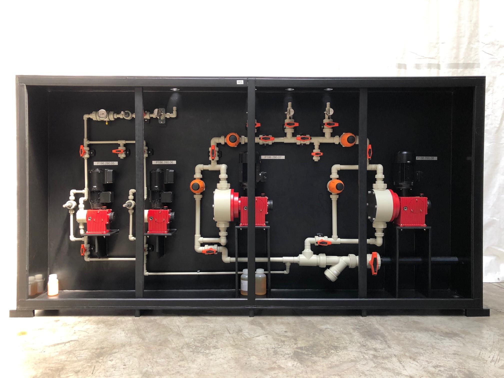 armoire 4 pompes